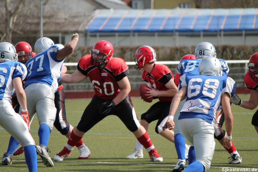 Scrimmage Marburg Mercenaries Darmstadt Diamonds Jugend 121