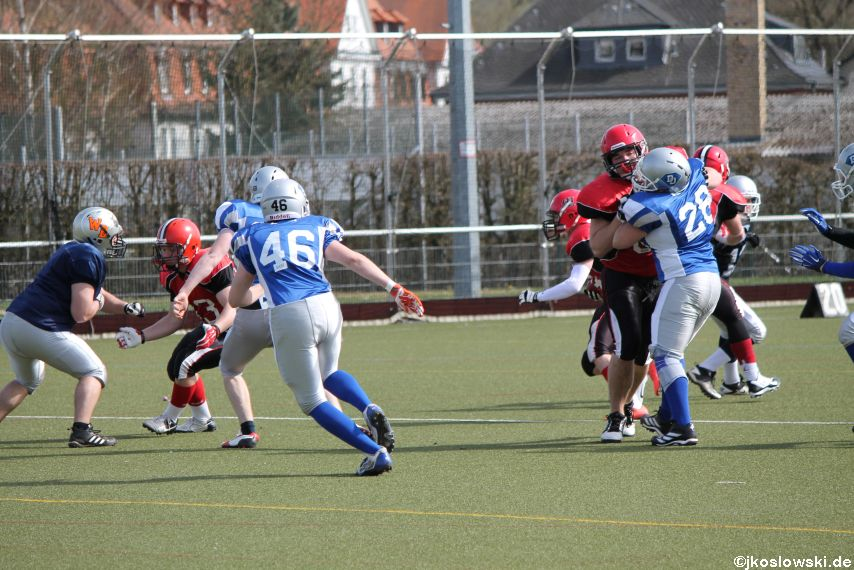 Scrimmage Marburg Mercenaries Darmstadt Diamonds Jugend 122