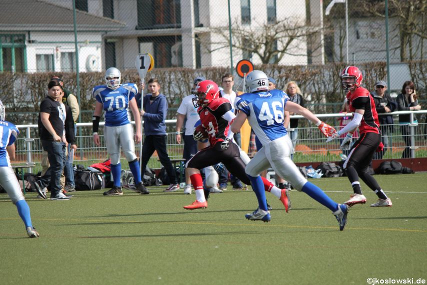 Scrimmage Marburg Mercenaries Darmstadt Diamonds Jugend 123