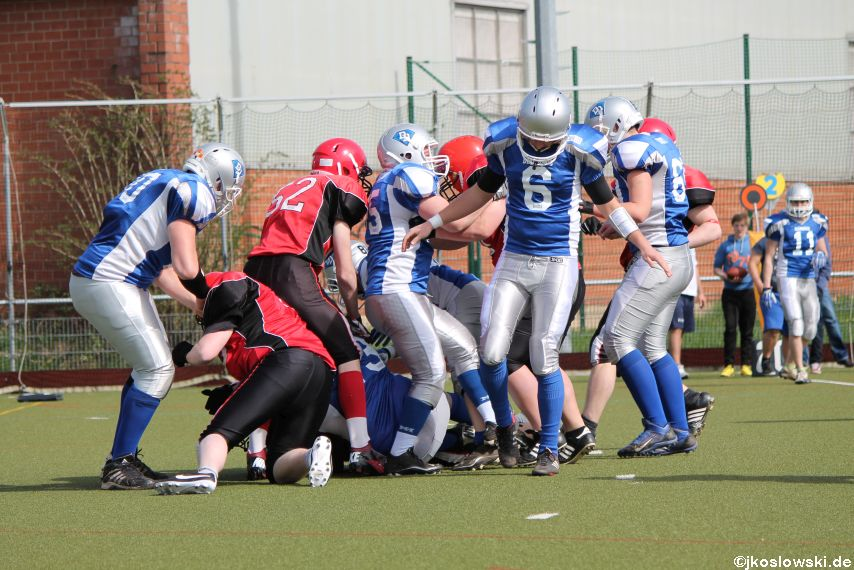 Scrimmage Marburg Mercenaries Darmstadt Diamonds Jugend 127