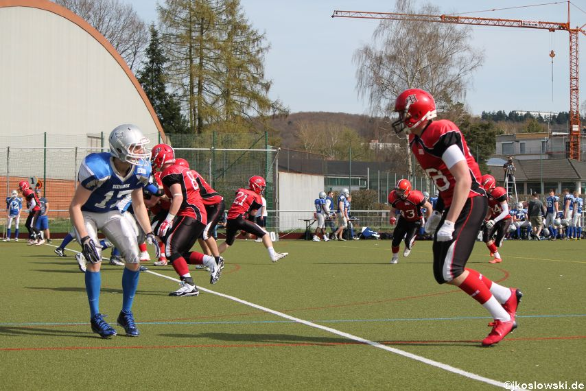 Scrimmage Marburg Mercenaries Darmstadt Diamonds Jugend 128