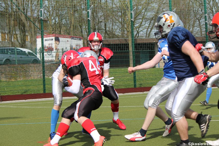 Scrimmage Marburg Mercenaries Darmstadt Diamonds Jugend 130