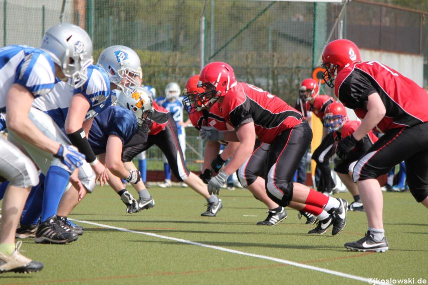 Scrimmage Marburg Mercenaries Darmstadt Diamonds Jugend 131