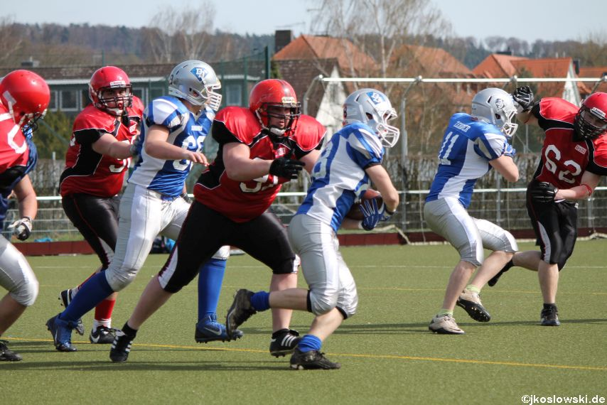 Scrimmage Marburg Mercenaries Darmstadt Diamonds Jugend 138