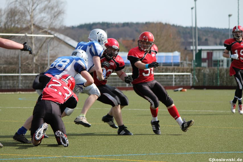 Scrimmage Marburg Mercenaries Darmstadt Diamonds Jugend 140