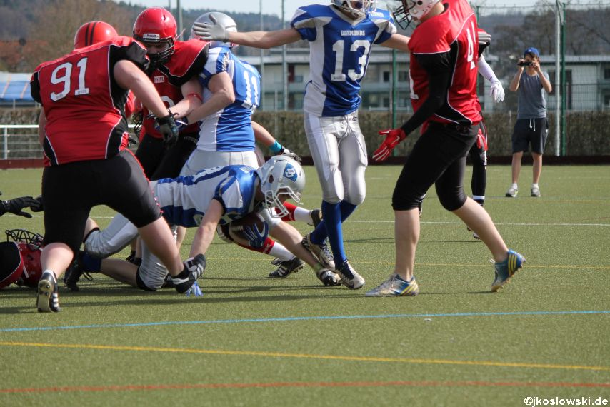 Scrimmage Marburg Mercenaries Darmstadt Diamonds Jugend 141