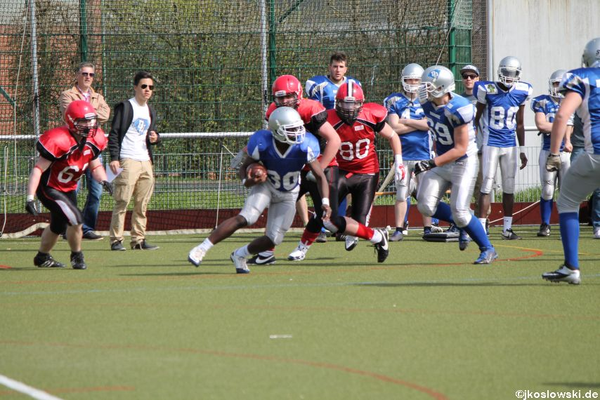 Scrimmage Marburg Mercenaries Darmstadt Diamonds Jugend 145