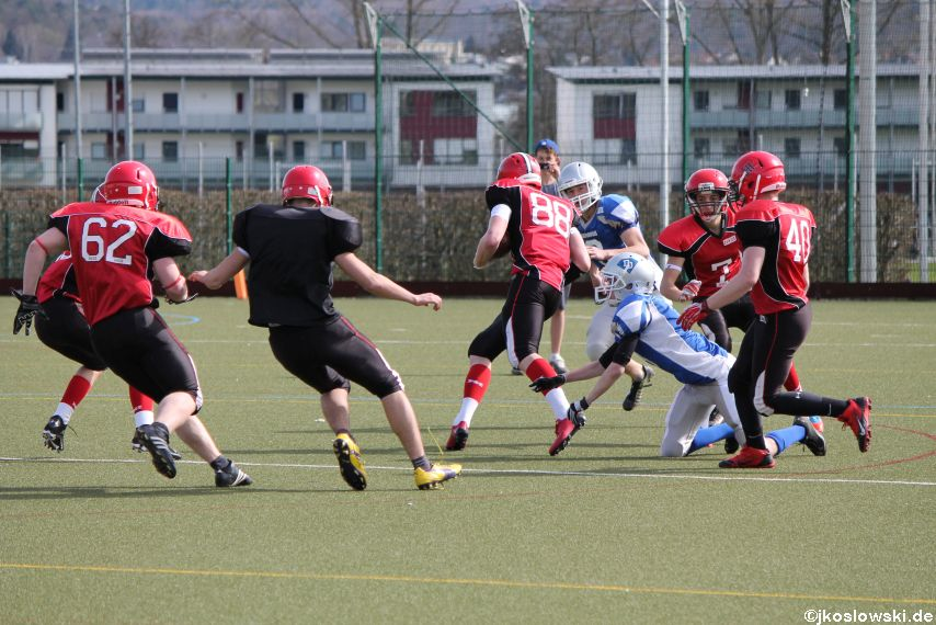Scrimmage Marburg Mercenaries Darmstadt Diamonds Jugend 150