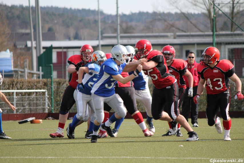 Scrimmage Marburg Mercenaries Darmstadt Diamonds Jugend 155