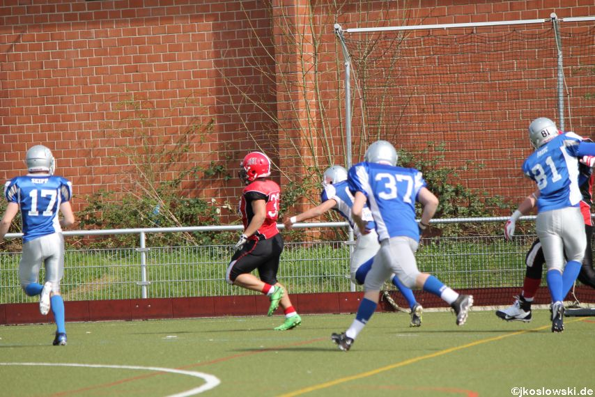 Scrimmage Marburg Mercenaries Darmstadt Diamonds Jugend 158