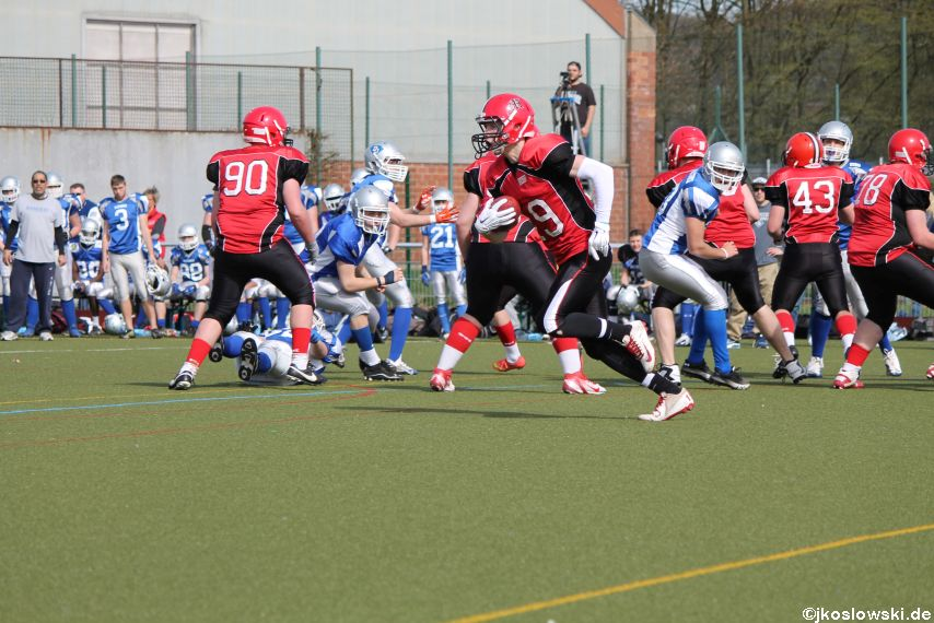Scrimmage Marburg Mercenaries Darmstadt Diamonds Jugend 159