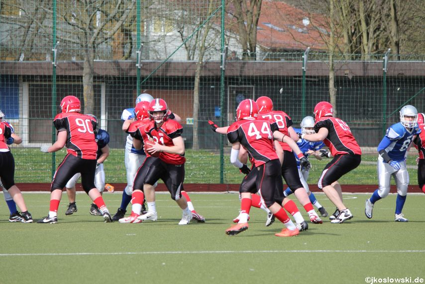 Scrimmage Marburg Mercenaries Darmstadt Diamonds Jugend 160