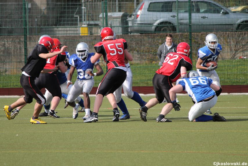 Scrimmage Marburg Mercenaries Darmstadt Diamonds Jugend 166