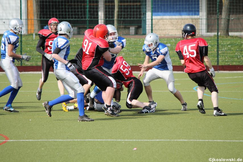 Scrimmage Marburg Mercenaries Darmstadt Diamonds Jugend 172