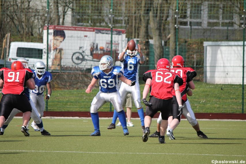 Scrimmage Marburg Mercenaries Darmstadt Diamonds Jugend 175