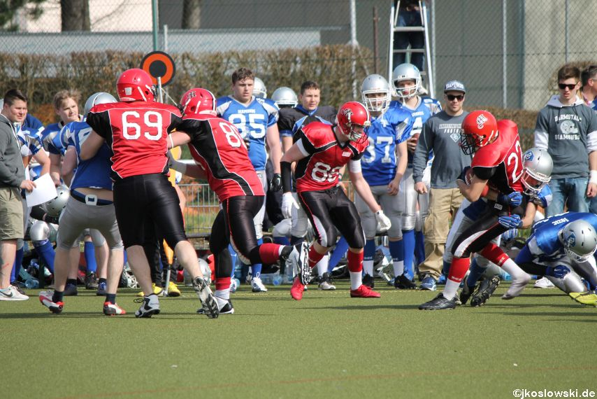 Scrimmage Marburg Mercenaries Darmstadt Diamonds Jugend 180