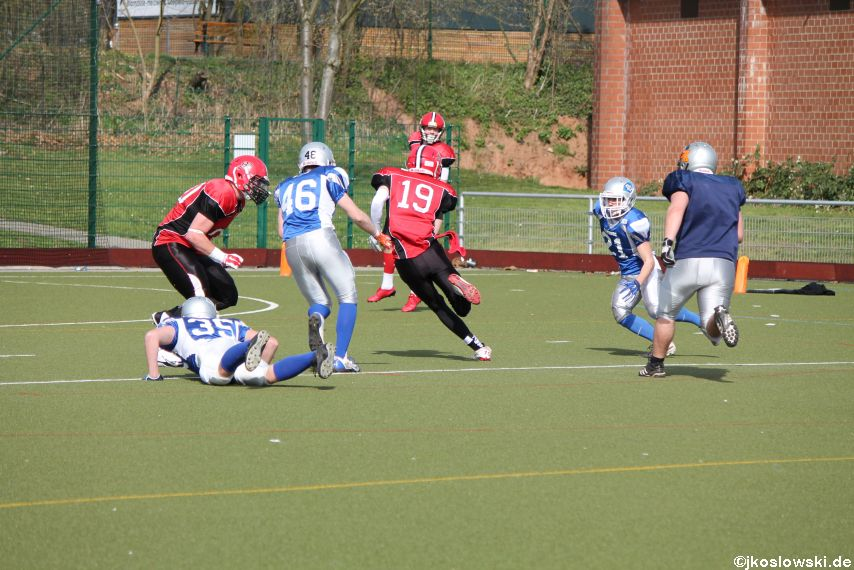 Scrimmage Marburg Mercenaries Darmstadt Diamonds Jugend 182