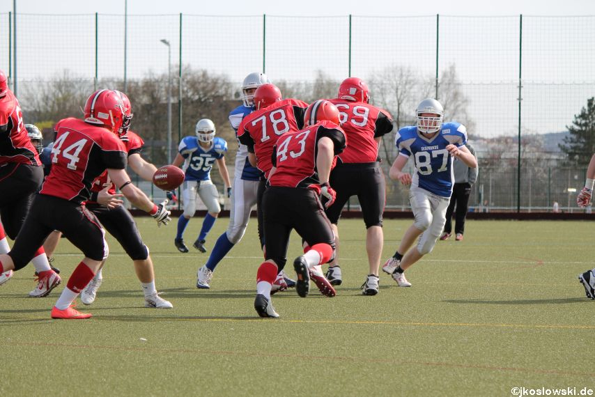 Scrimmage Marburg Mercenaries Darmstadt Diamonds Jugend 183