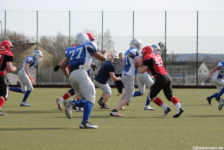 Scrimmage Marburg Mercenaries Darmstadt Diamonds Jugend 185