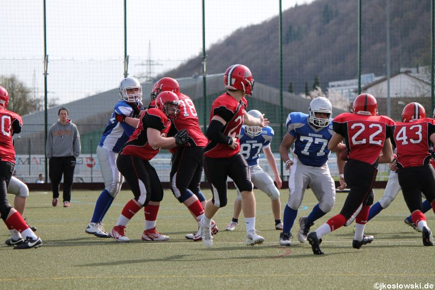 Scrimmage Marburg Mercenaries Darmstadt Diamonds Jugend 187