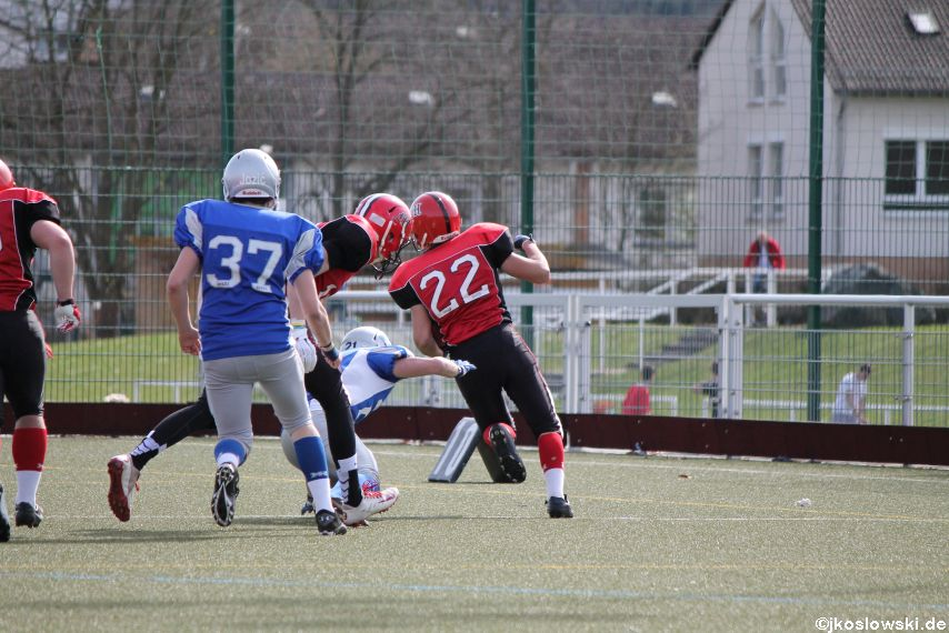 Scrimmage Marburg Mercenaries Darmstadt Diamonds Jugend 190