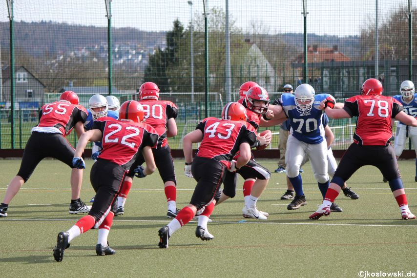 Scrimmage Marburg Mercenaries Darmstadt Diamonds Jugend 192