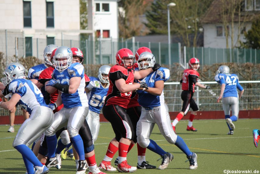 Scrimmage Marburg Mercenaries Darmstadt Diamonds Jugend 193