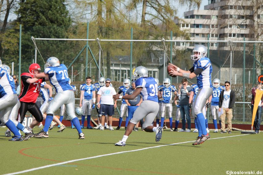 Scrimmage Marburg Mercenaries Darmstadt Diamonds Jugend 195