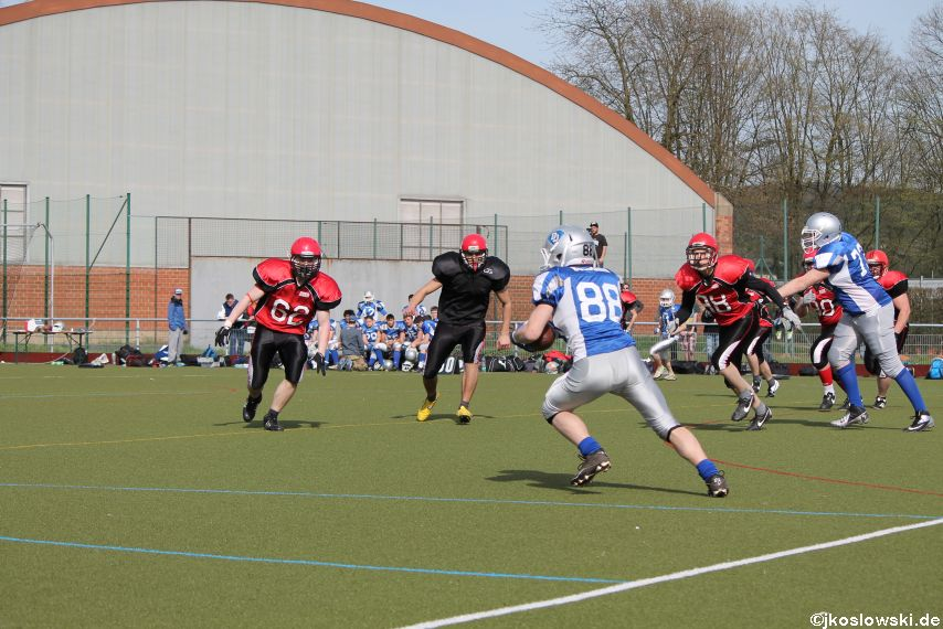 Scrimmage Marburg Mercenaries Darmstadt Diamonds Jugend 197