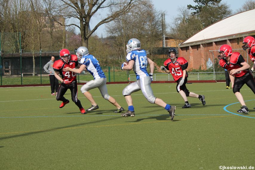 Scrimmage Marburg Mercenaries Darmstadt Diamonds Jugend 198