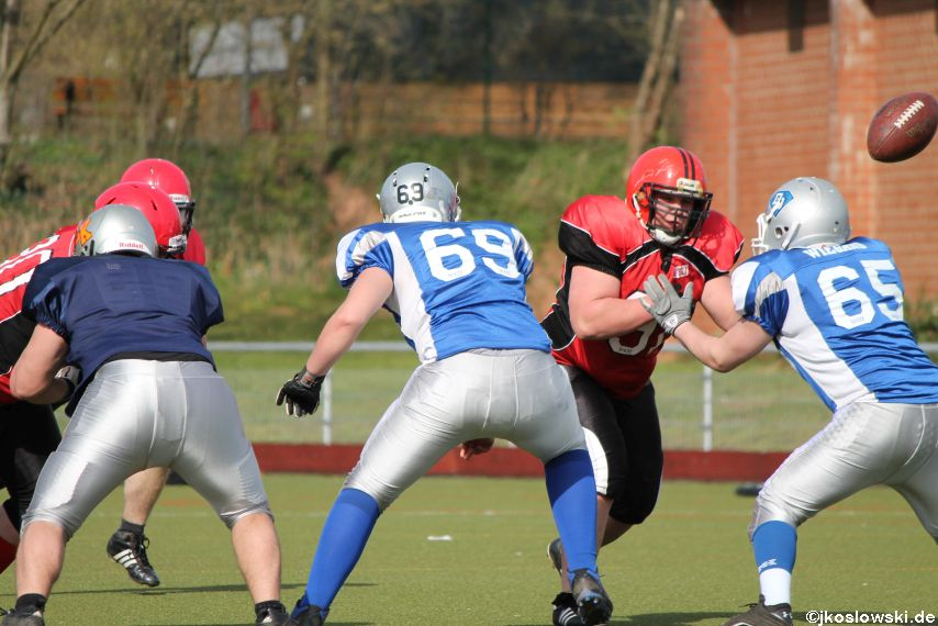 Scrimmage Marburg Mercenaries Darmstadt Diamonds Jugend 199