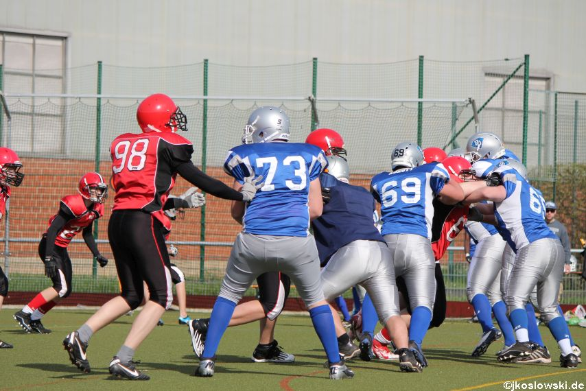Scrimmage Marburg Mercenaries Darmstadt Diamonds Jugend 204