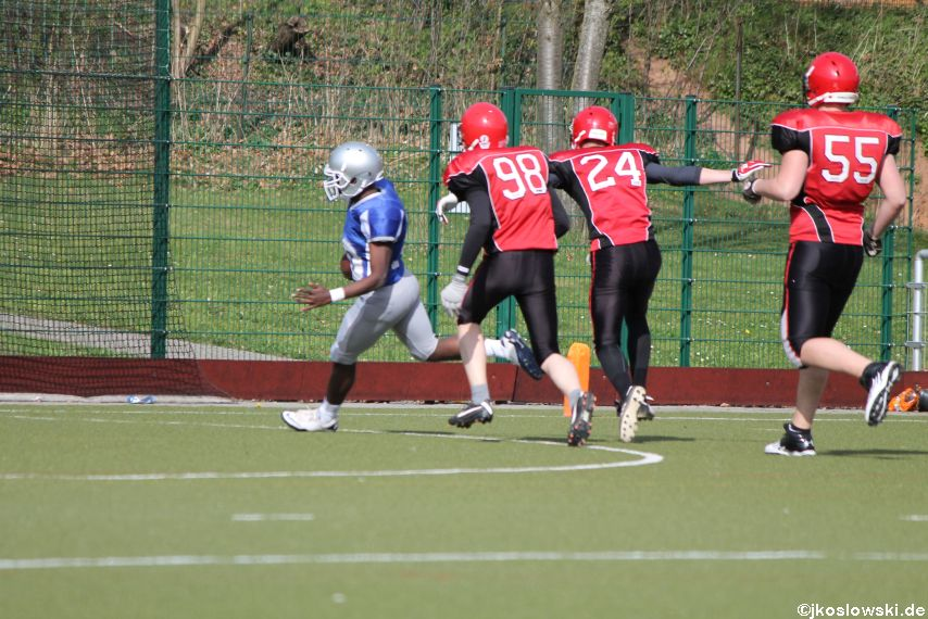 Scrimmage Marburg Mercenaries Darmstadt Diamonds Jugend 205