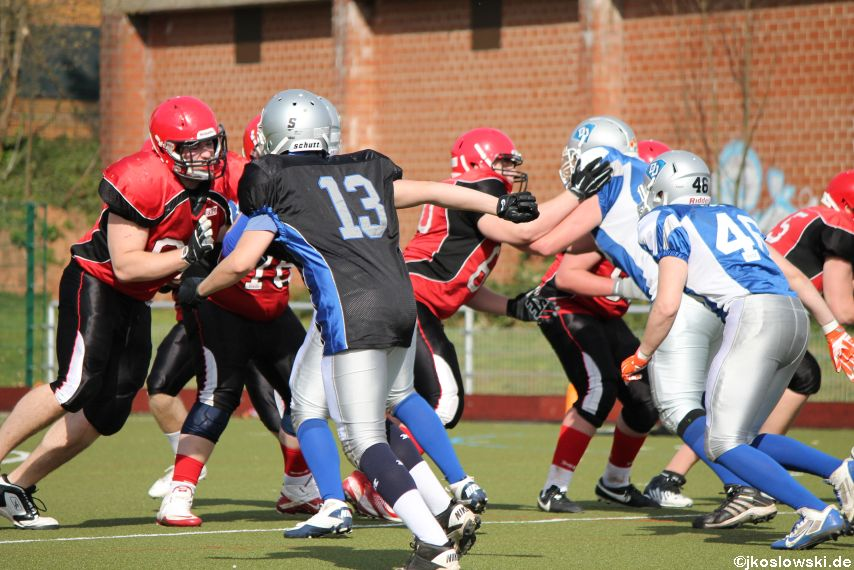 Scrimmage Marburg Mercenaries Darmstadt Diamonds Jugend 206