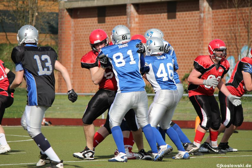 Scrimmage Marburg Mercenaries Darmstadt Diamonds Jugend 207