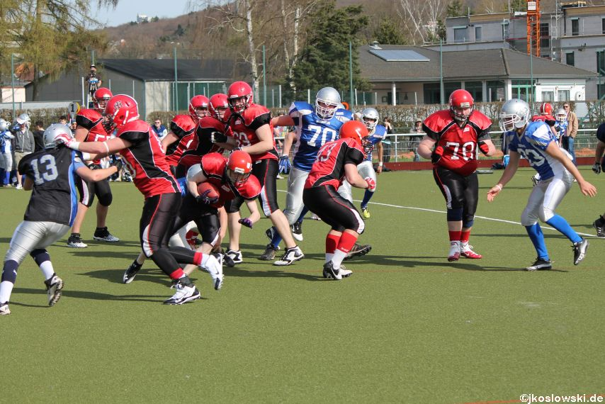 Scrimmage Marburg Mercenaries Darmstadt Diamonds Jugend 210