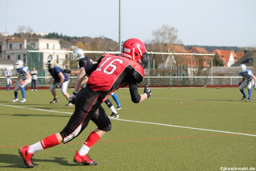 Scrimmage Marburg Mercenaries Darmstadt Diamonds Jugend 211