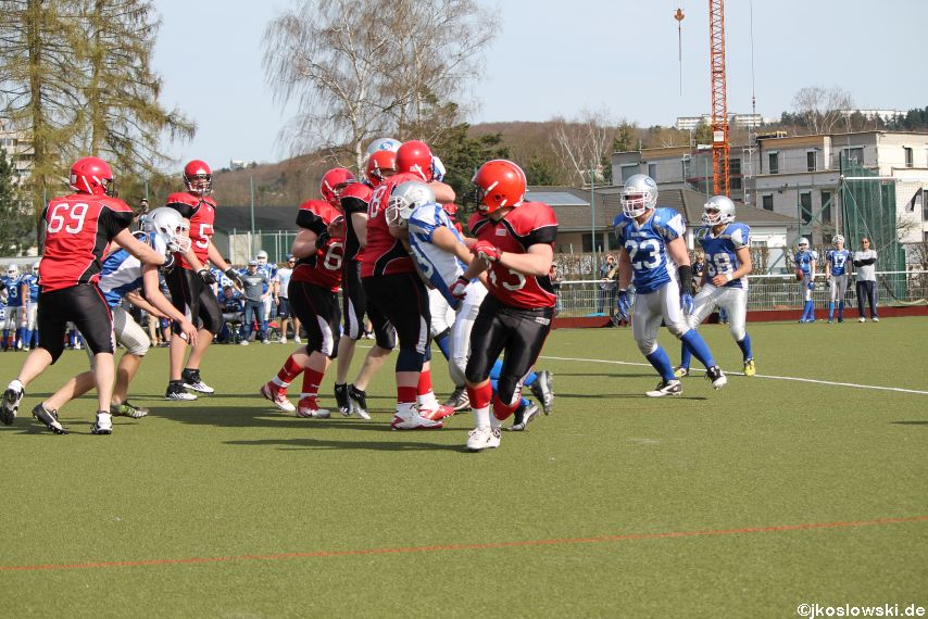 Scrimmage Marburg Mercenaries Darmstadt Diamonds Jugend 212