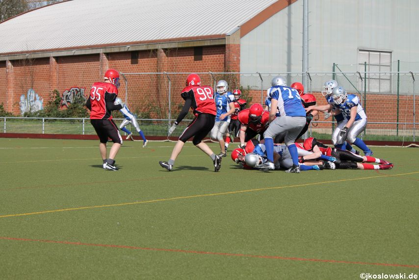 Scrimmage Marburg Mercenaries Darmstadt Diamonds Jugend 217