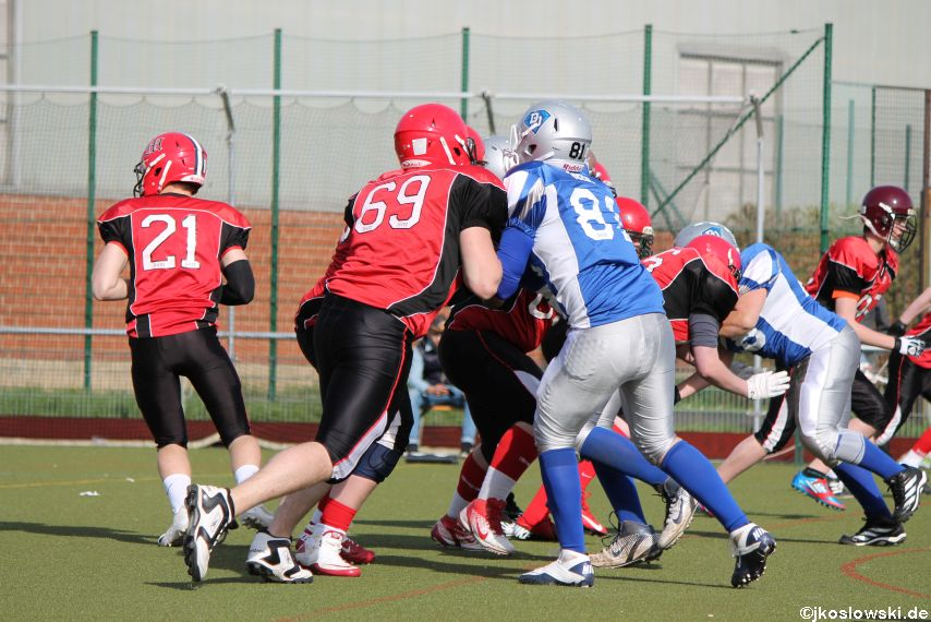 Scrimmage Marburg Mercenaries Darmstadt Diamonds Jugend 224