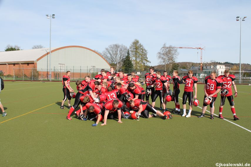 Scrimmage Marburg Mercenaries Darmstadt Diamonds Jugend 234