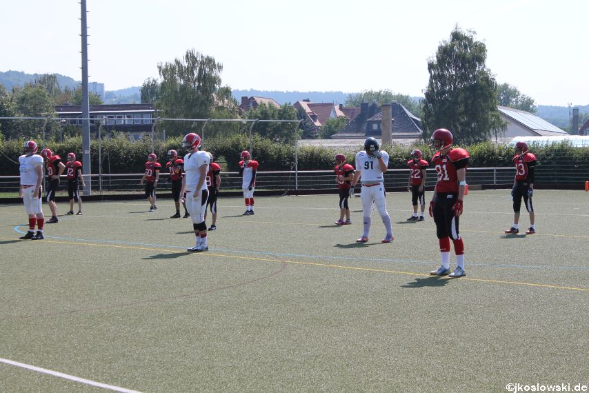 Sommer Camp der Jugend Footballer der Marburg Mercenaries 003