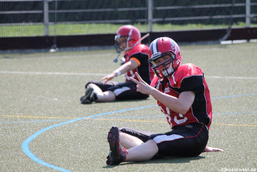 Sommer Camp der Jugend Footballer der Marburg Mercenaries 020