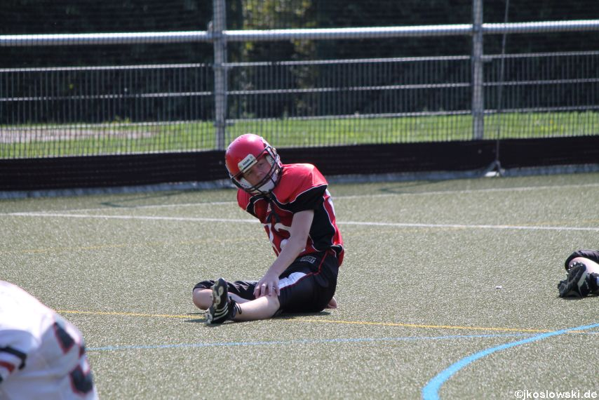 Sommer Camp der Jugend Footballer der Marburg Mercenaries 021