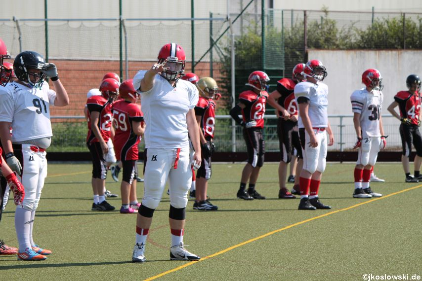 Sommer Camp der Jugend Footballer der Marburg Mercenaries 027