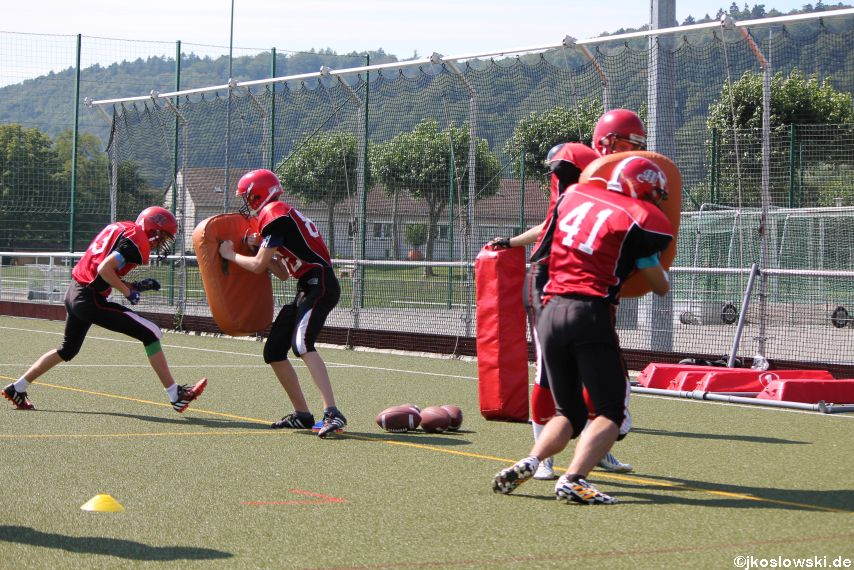 Sommer Camp der Jugend Footballer der Marburg Mercenaries 030