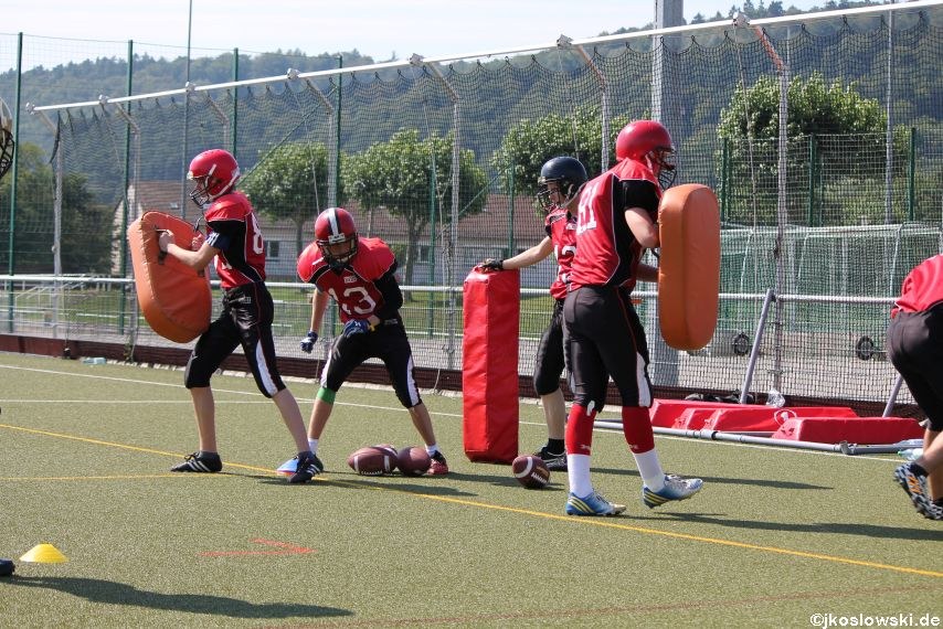 Sommer Camp der Jugend Footballer der Marburg Mercenaries 031