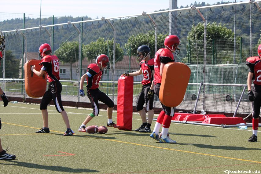 Sommer Camp der Jugend Footballer der Marburg Mercenaries 032