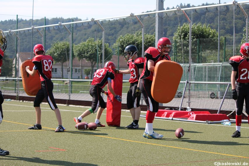 Sommer Camp der Jugend Footballer der Marburg Mercenaries 033