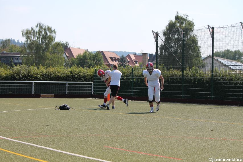 Sommer Camp der Jugend Footballer der Marburg Mercenaries 042